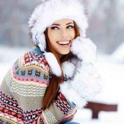 Gesicht Winterpflege