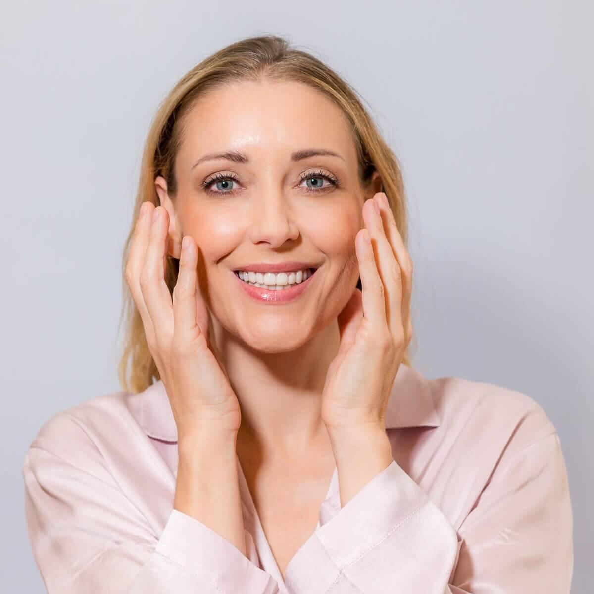 Gesichtspflege mit Heki