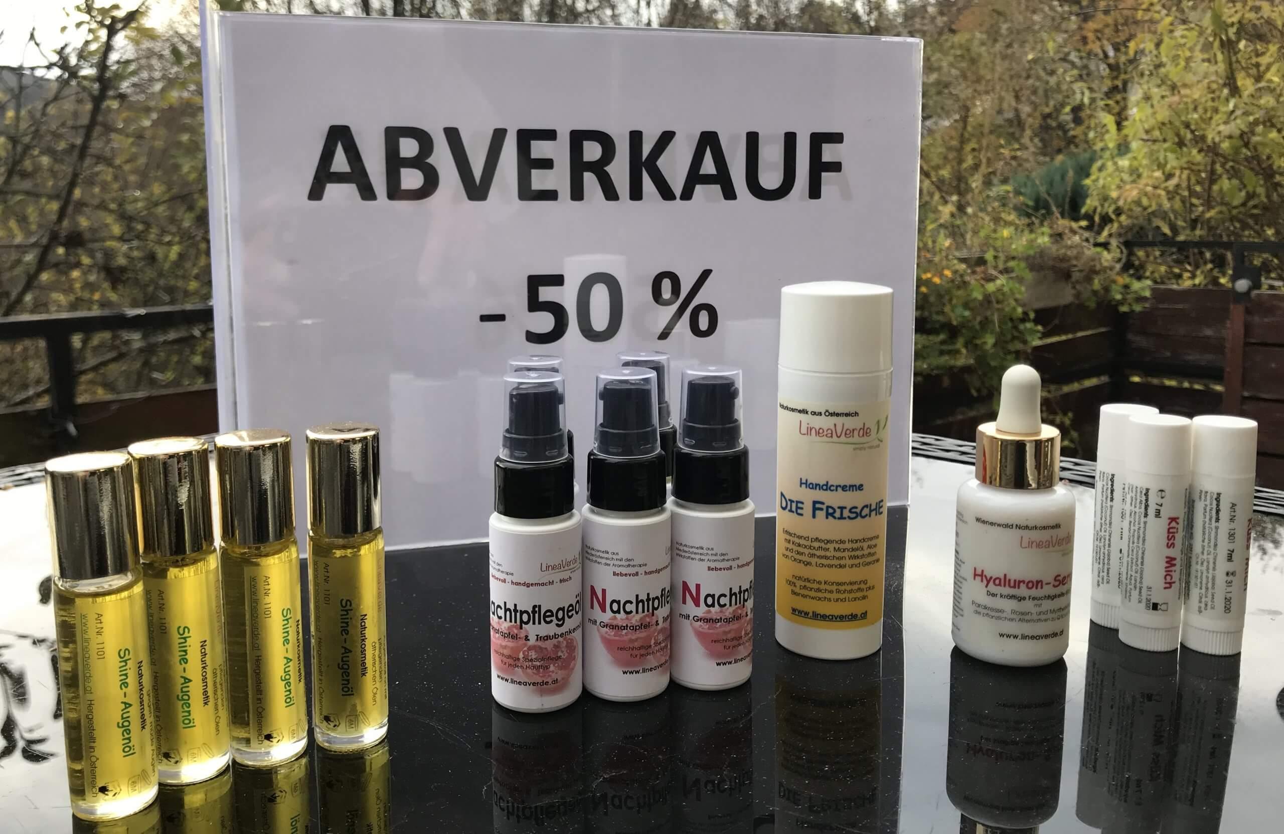 LineaVerde Abverkauf November 2019